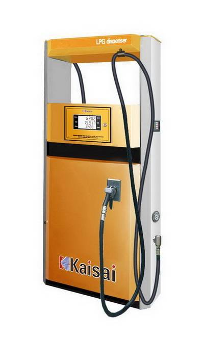 LPG Dispenser with 2 Nozzles CNG