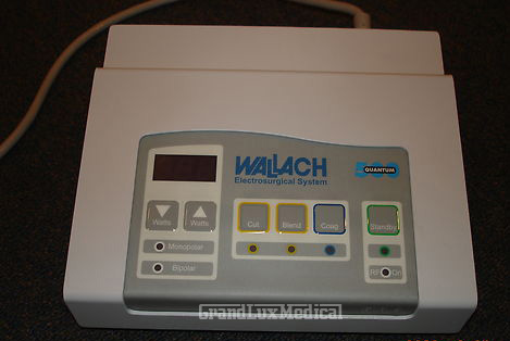 Wallach Quantum 500 Electrosurgery System