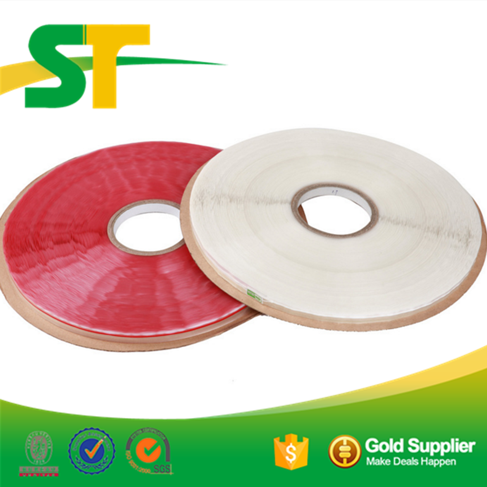 hot sell bag sealing double sided tissue resealable bag sealing tape