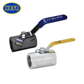 Wide type thread ball valve