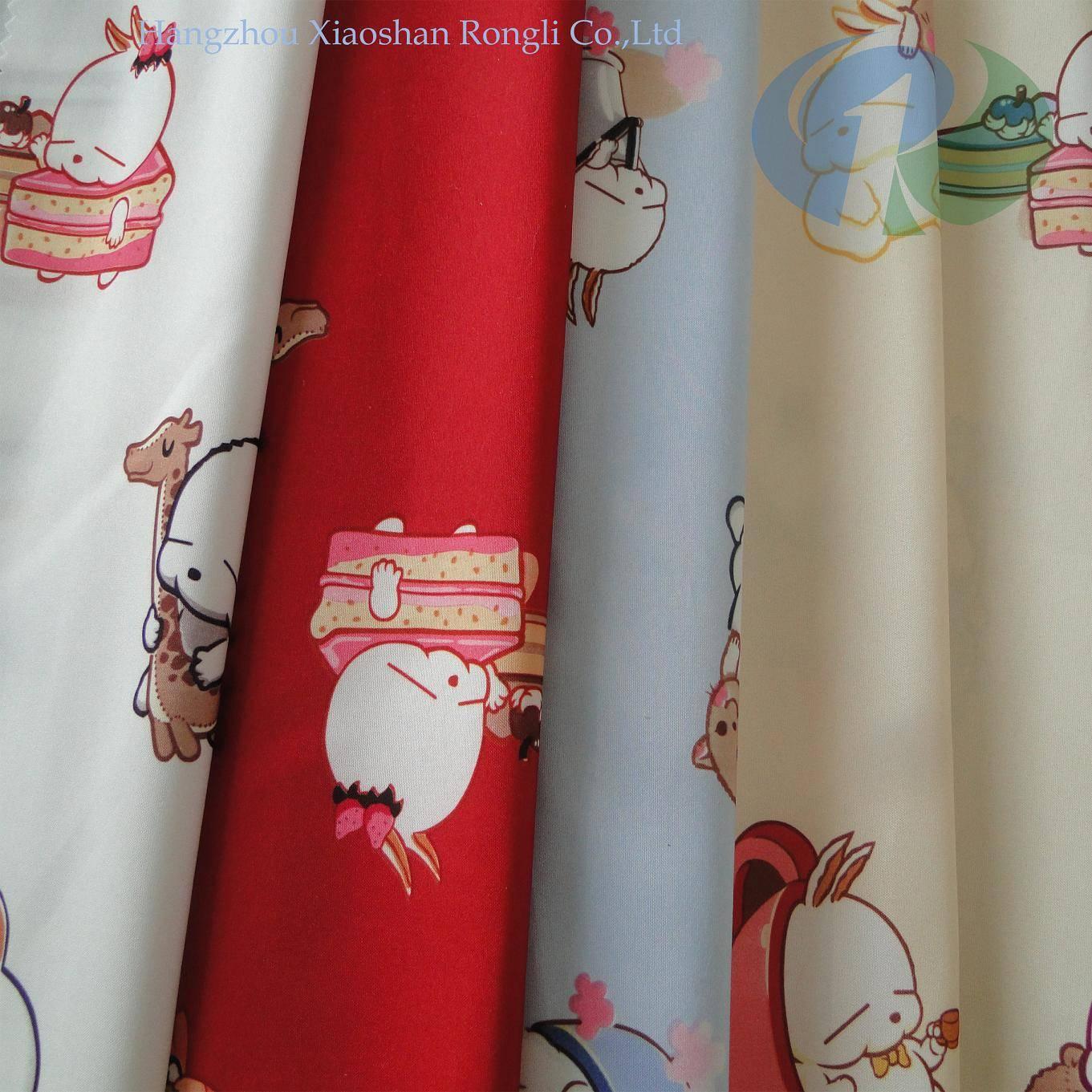 home children cartoon woven printed mattress fabric RLP13~18