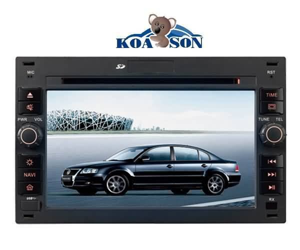 Two -Din Passat B5/Bora/Polo/Golf4 Car DVD Player with 6.2-Inch Touch Screen/Canbus(optional)/TMC (o