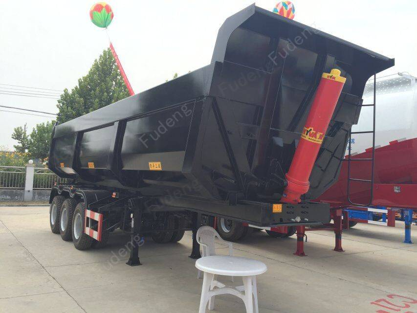 High quality 22 ton tipper truck trailer with competitive price tipper trailer for Kenya