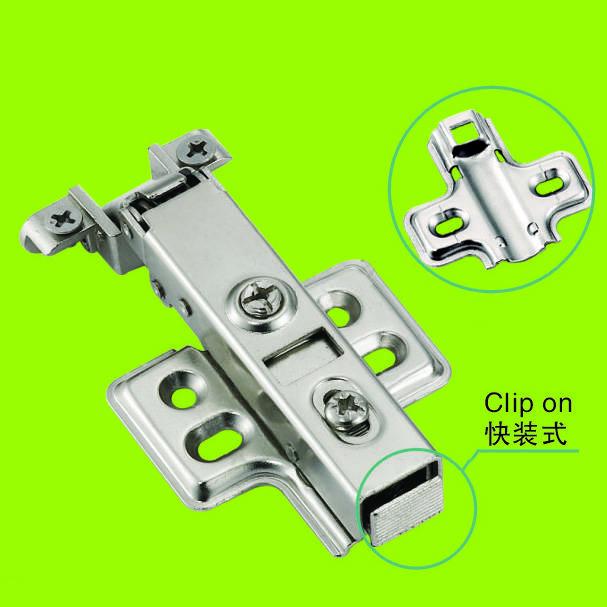 hinges for Aluminum frame cabinet hardwarwe full-overlay