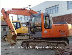 used EX120 Hitachi crawler Excavator