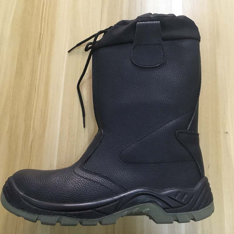waterproof safety boots with genuine leather