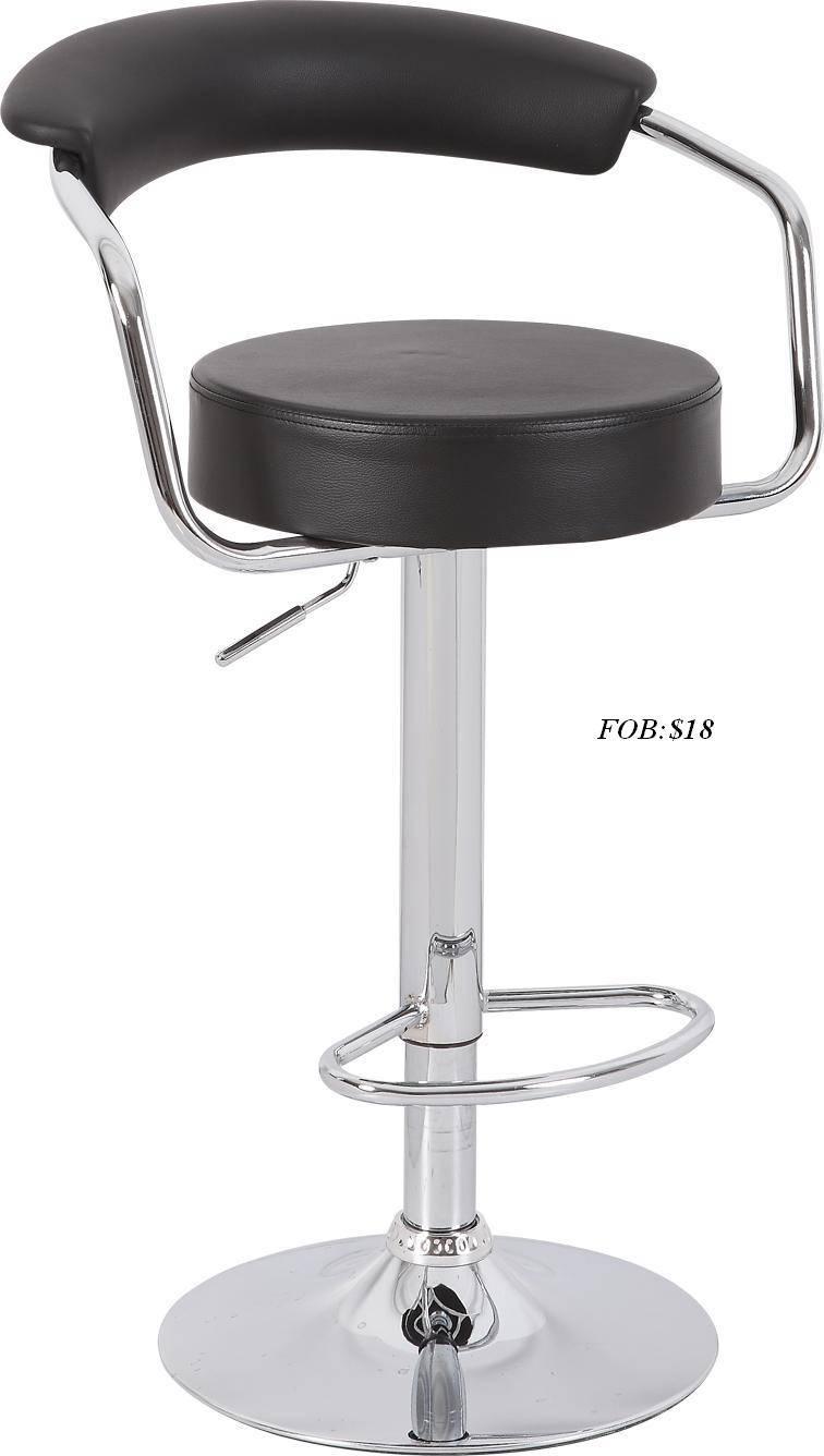hot sales best selling Cheap PVC leather swivel lift bar stool bar chair ruotabile sgabelli da bar