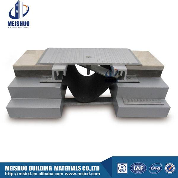 Aluminum profile floor expansion joint cover plates