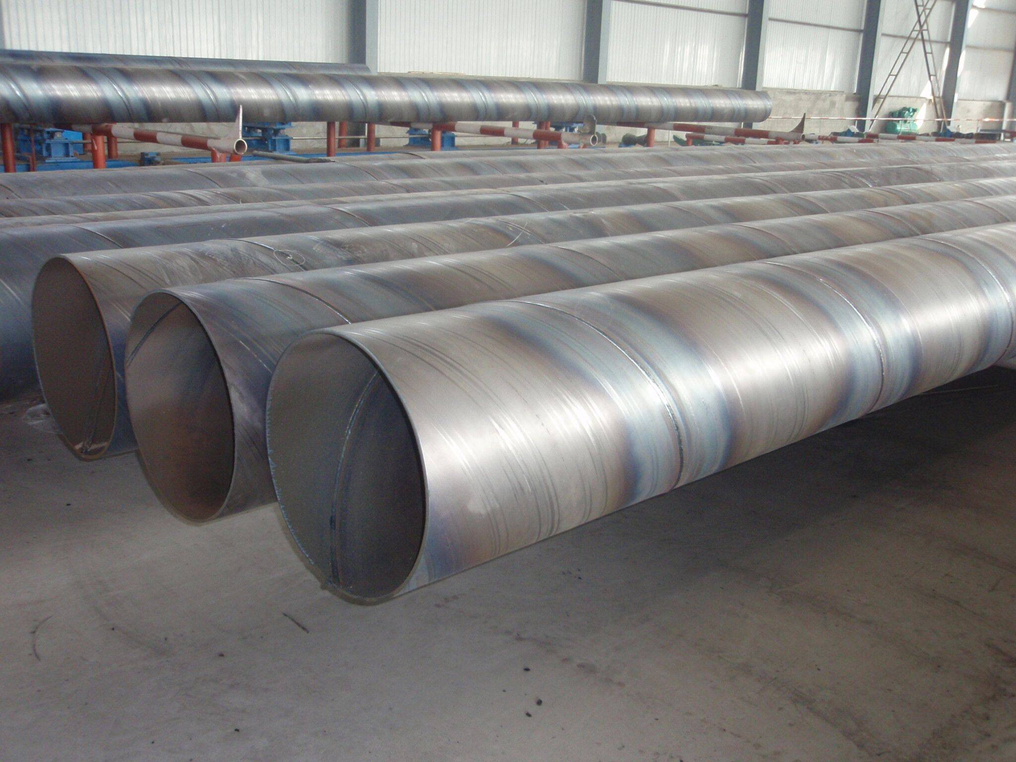 Q235 Q345 SAW Sprial Welded Steel Pipe