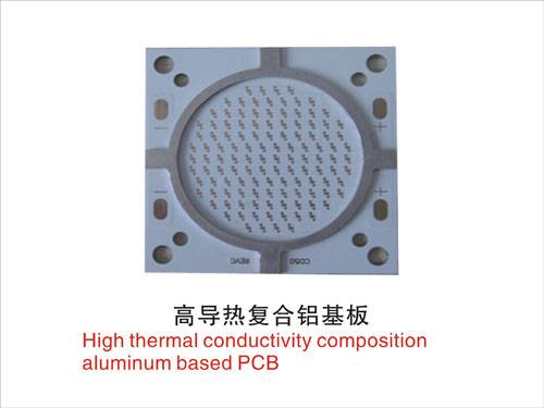 High thermal conductivity composition aluminum based PCB  ROHS/REACH/UL