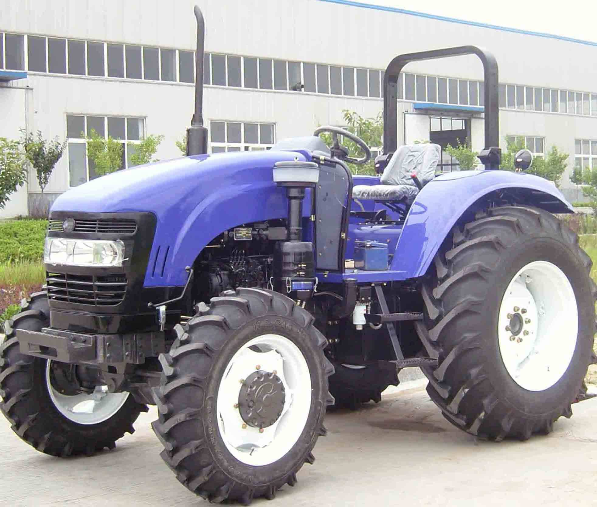 100HP 4WD farm tractor with CE