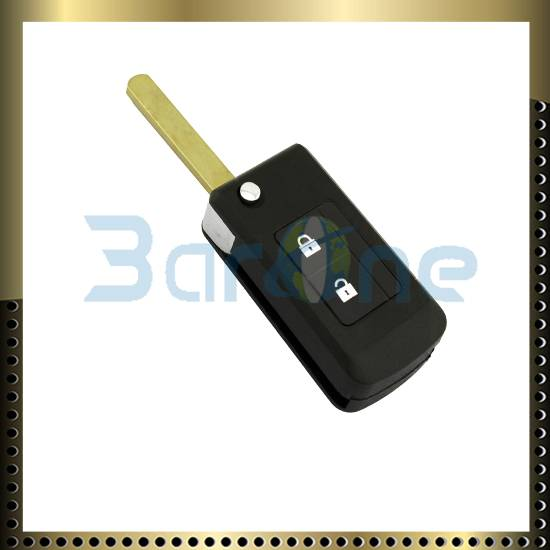 2 button car key shell for Subaru