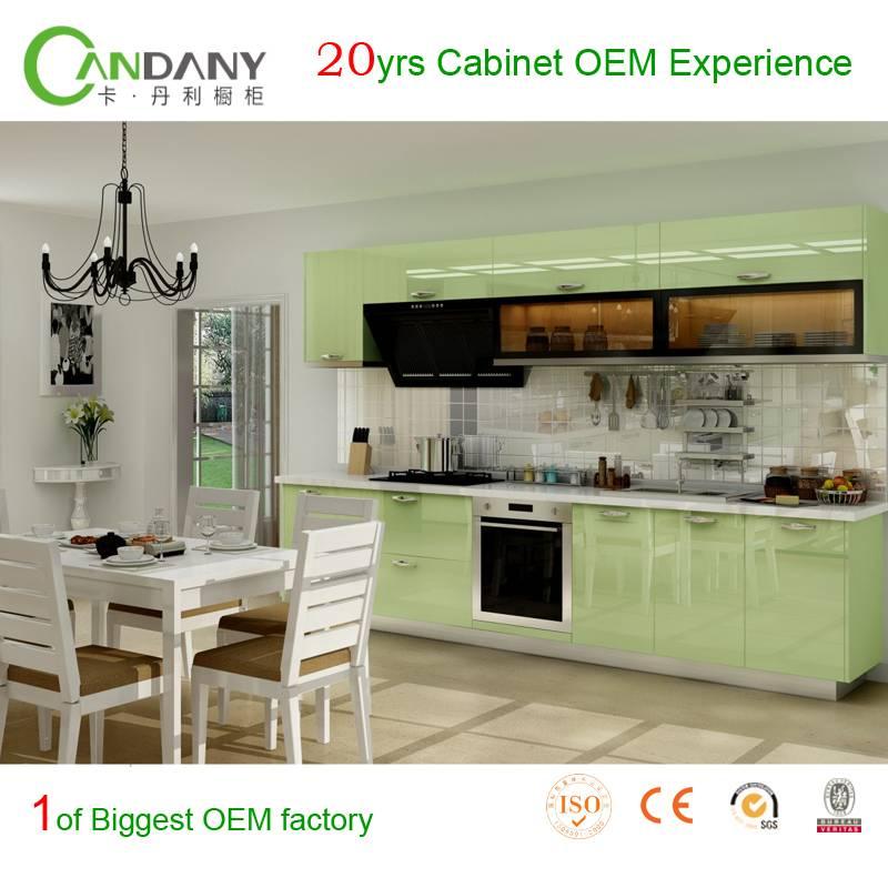 20 Yrs in OEM Jane European Style Customized Kitchen Cabinet