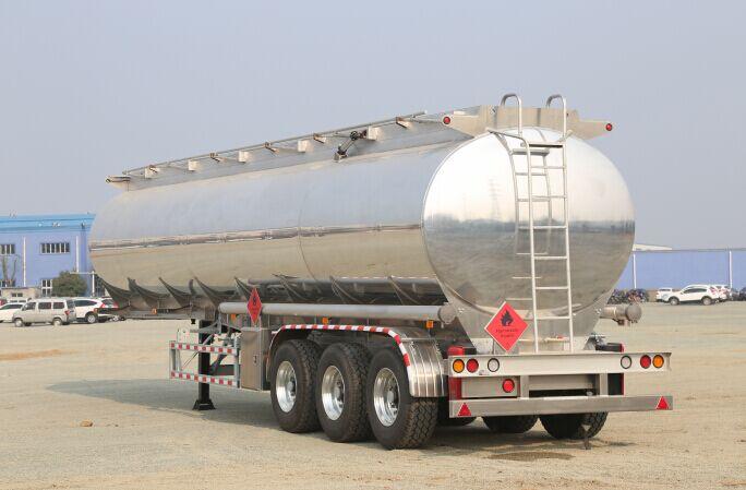 Fuel trailer / tank trailer/ oil trailer/ aluminium alloy fuel tank trailer/ oil tank trailer