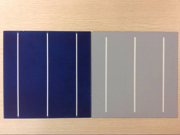 6 Inch Poly/Multi-crystalline solar cell 4.0-4.2W made in Taiwan