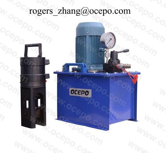 Rebar cold stamping machine