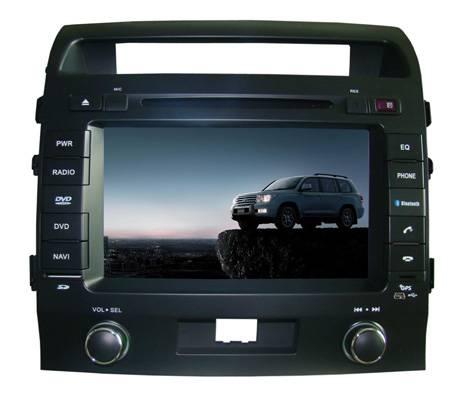 "2 DIN 8"" touch screen toyota land cruser car dvd player  HD5030"