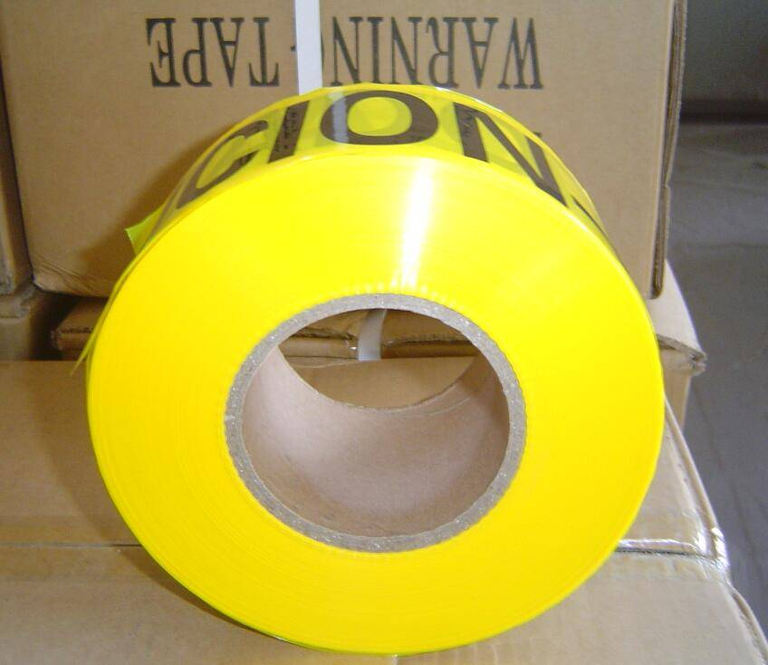 PE warning tape for safety