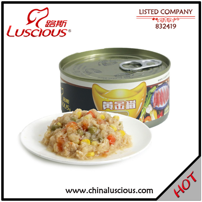Chicken with Vegetable Dog Canned Food