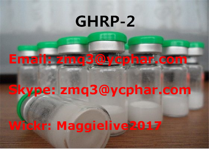 158861-67-7 5mg Ghrp-2 Muscle Gain and Anti Aging Peptide Release Peptide-2