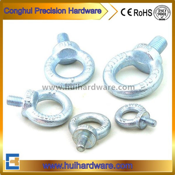 Blue Zinc Plated Drop Forged Galvanized Lifting Eye Bolt DIN580