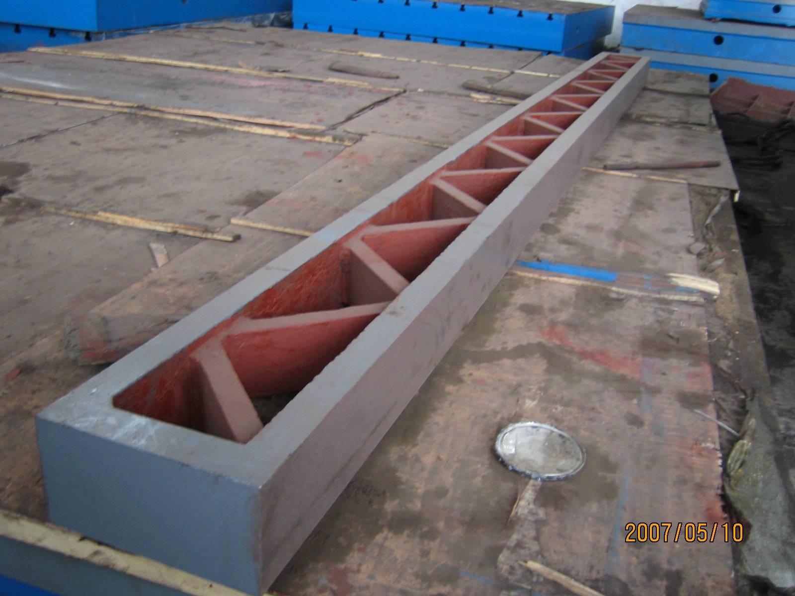Measuring Level Ruler Equipment Installing Cast Iron straight edge instrument