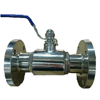 Stainless Steel Sanitary Flanged type Ball Valve