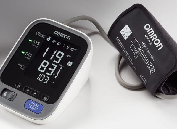 New Digital Ultra Slim Blood Pressure Monitor Cuff with Backlight LCD Display