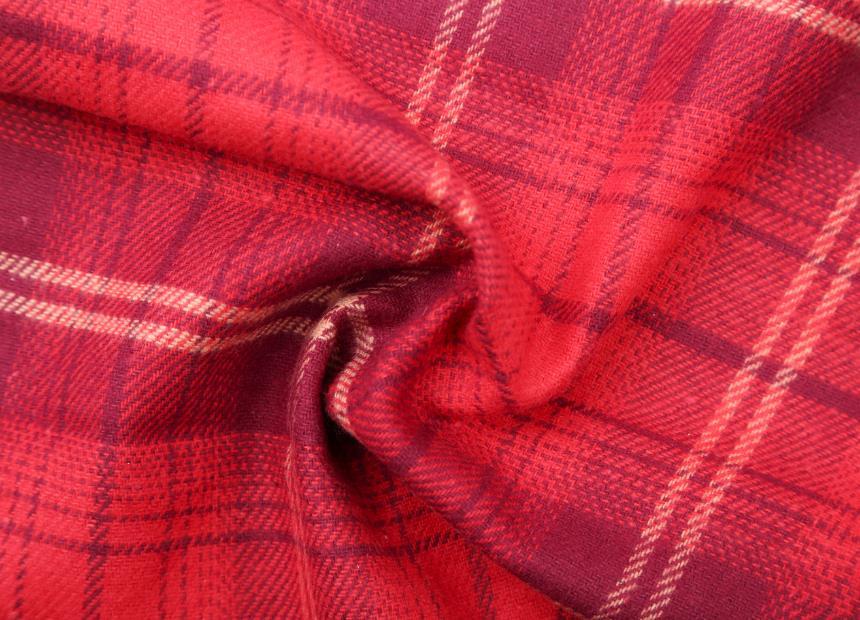 100% cotton 20s16s flame retardant yarn-dyed fabric