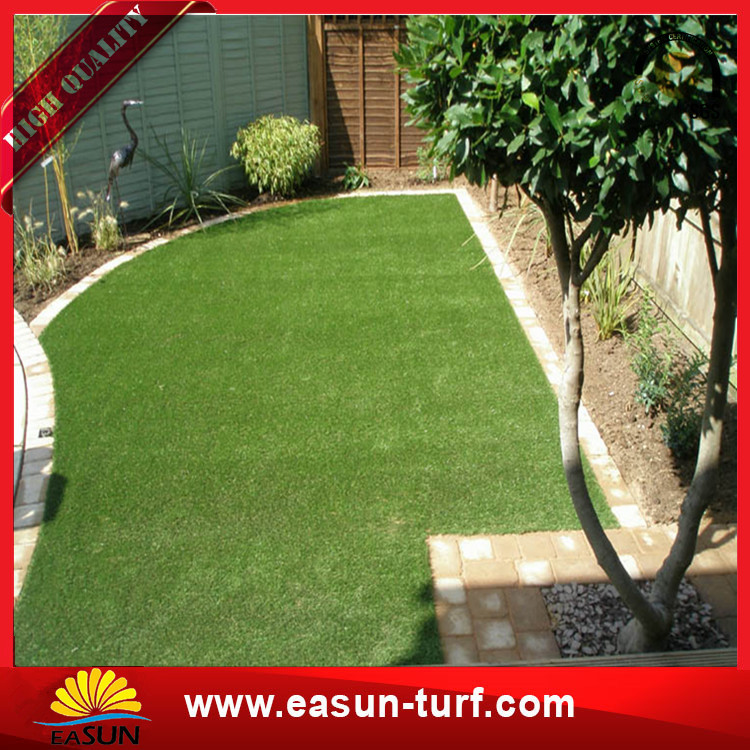 Landscaping Cheap Synthetic Grass Artificial Turf For Garden Decor-Donut
