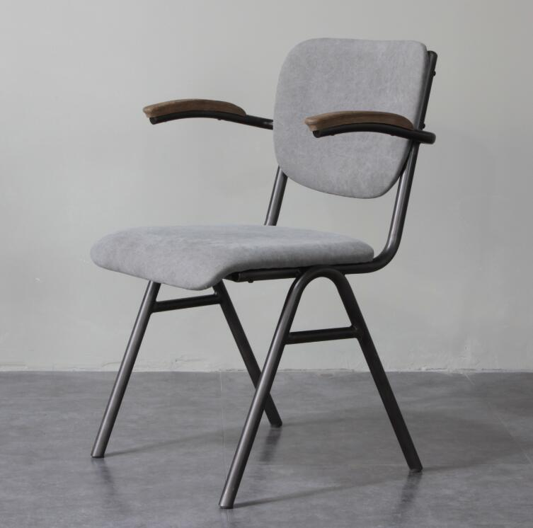 Hot Sale Industrial Style Metal Armchair for Dining Room
