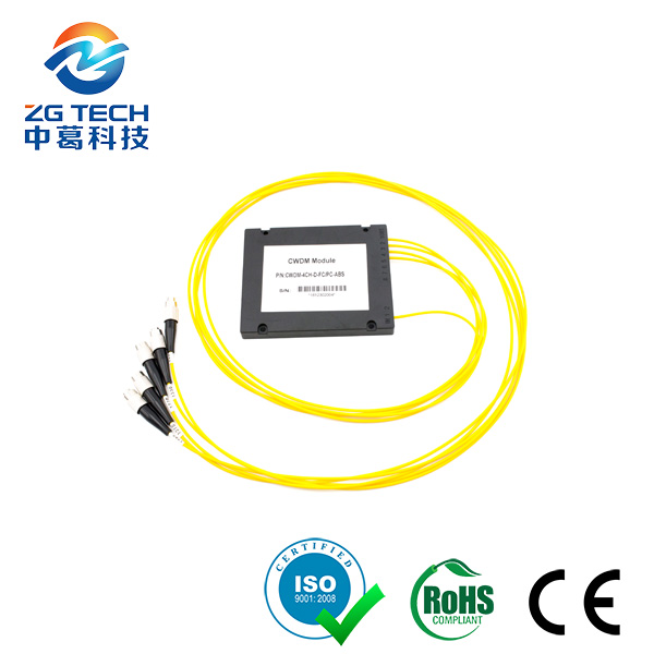 Fiber optic factory supplies Single Mode 4CH MUX DEMUX CWDM
