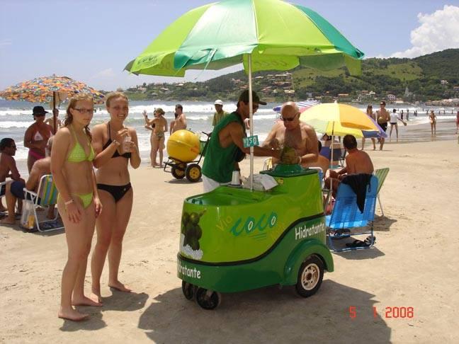 Coconut Mobile Cart