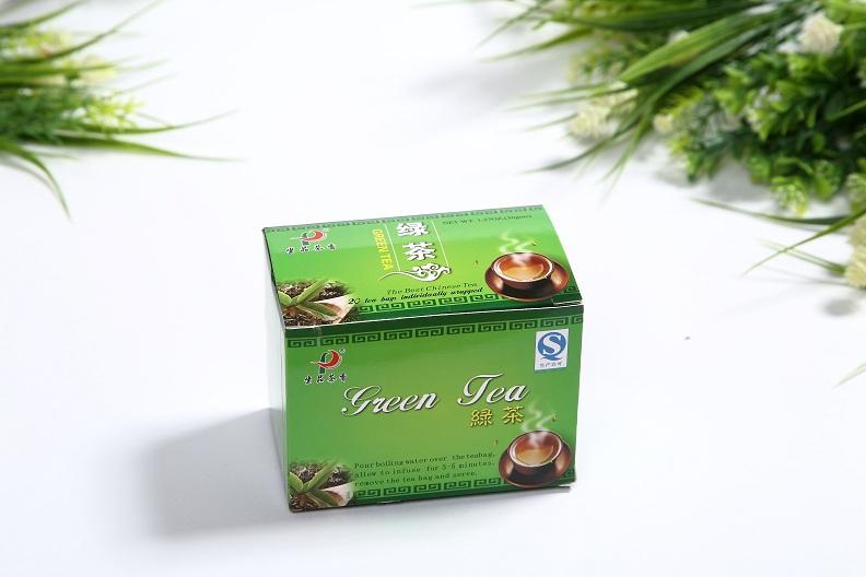 Chinese Premium non-fermented XiHuLongJing Green Tea(20 tea bags/box)