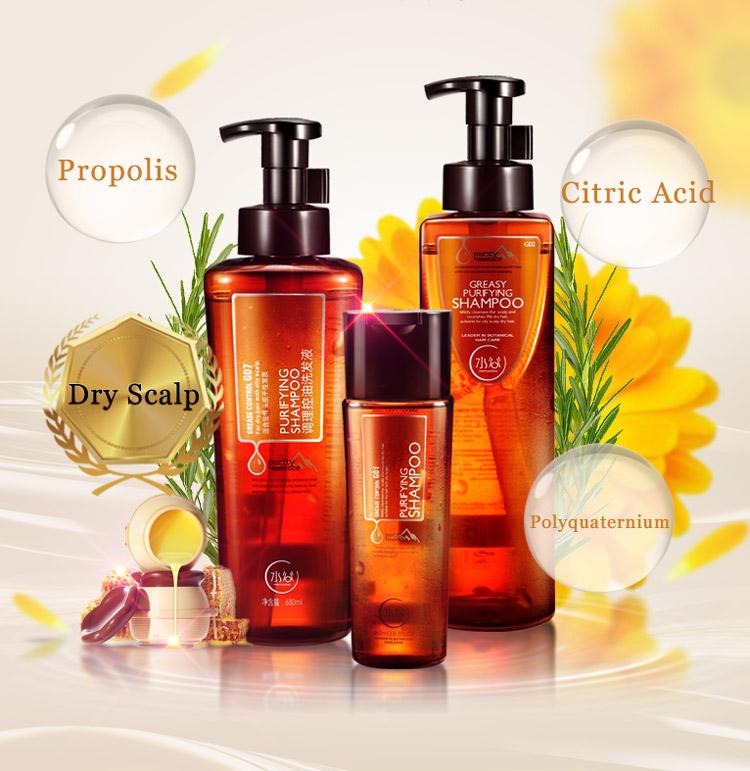 Factory price OEM hair care shampoo herbal formula natural hair shampoo for salon use