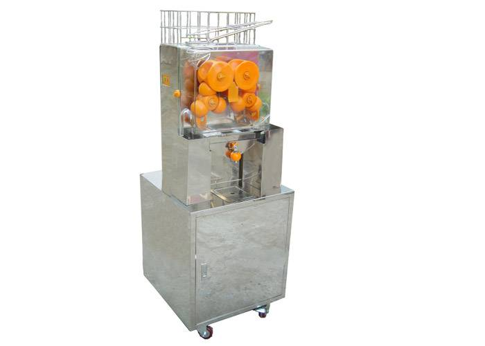 Apple Lemon Fruit / Vegetable Commercial Juicer Machine With Touchpad Switch