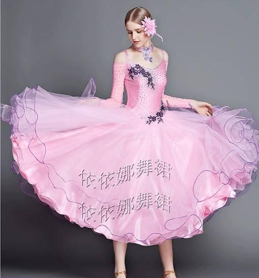 Custom-Made Ballroom Dance Wear Dance Costume Ballgown