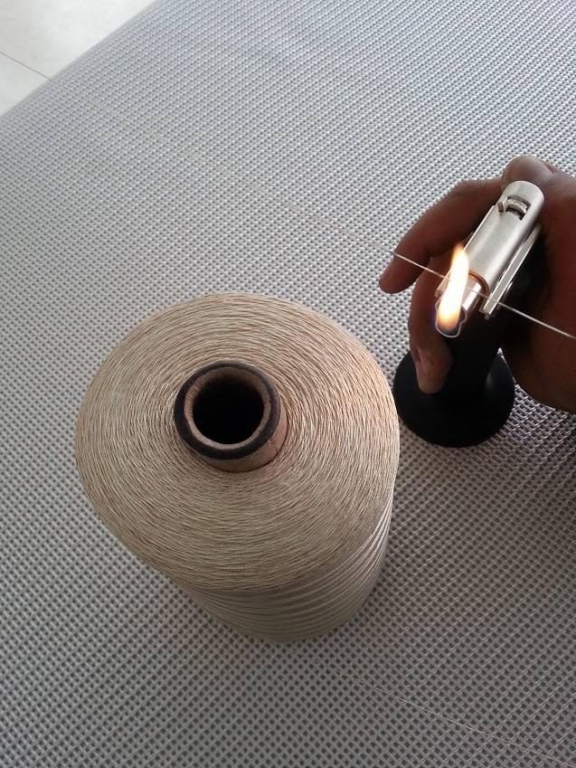 High temperature fiberglass sewing thread