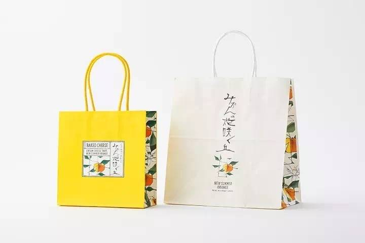 Paper printed packaging bags
