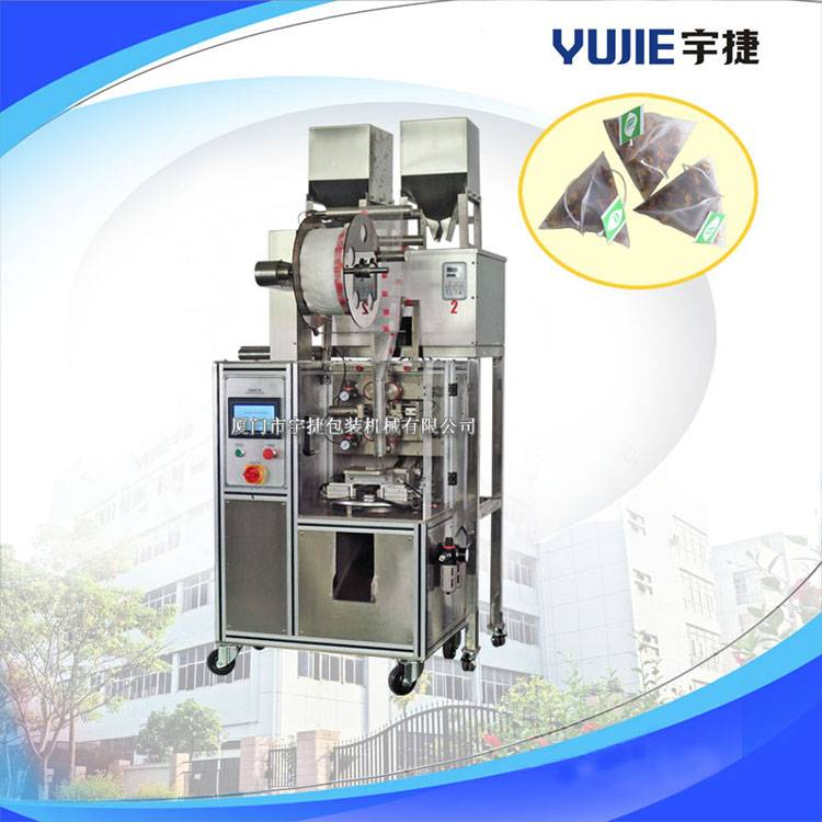 YD-SJB02 Automatic pyramid tea bag packing machine(inner and outer bag)