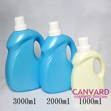 Empty laundry detergent bottles, clothes washing detergent bottle, detergent bottles