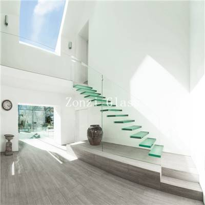 5mm 6mm Single Side Low E Glass for Builing Stairs