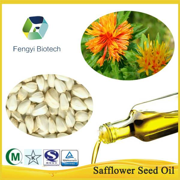 Cold Pressed Natural Organic Pure Safflower Seed Oil