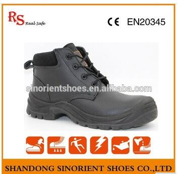 leather 100% steel toe safety shoes price used to Chile RS131