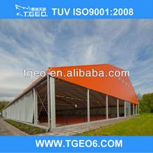 OUTDOOR EXHIBITION/TRADE SHOW/EVENT QUADRILATERAL ROOF TENT/MARQUEE WITH SIDEWALL