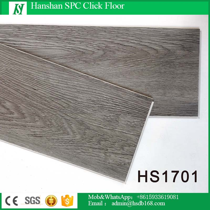 HanShan Low Price Healthy Non-slip Fireproof Indoor Plastic Flooring