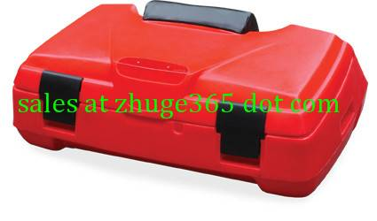Durable Black ATV Rear Box | Quad Case (SD1-QC06)