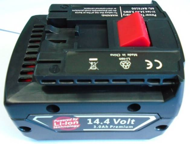 BOSCH 14.4V3.0ah li-ion power tools battery pack