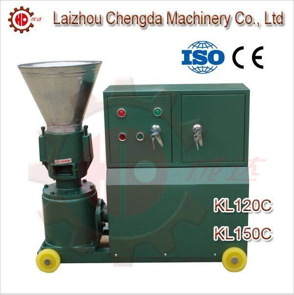 New condition flat die feed pellet machine with CE and ISO Certification