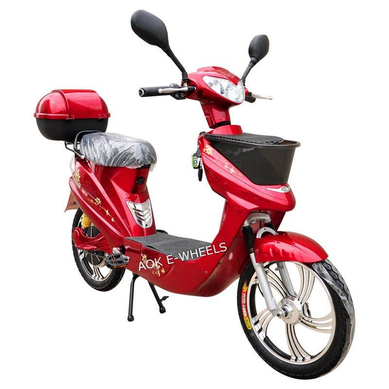 250W/350W/500W Motor Moped Scooter with Pedal (EB-008)